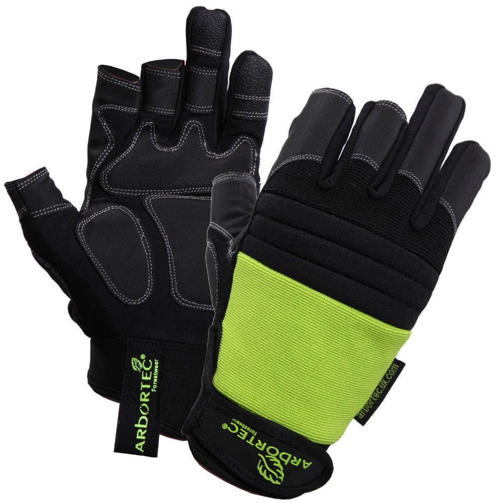 Arbortec AT1100 3-Digit Gloves